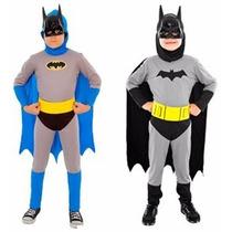 Disfraz Batman Completo 2 Modelos Licencia Original Jiujim