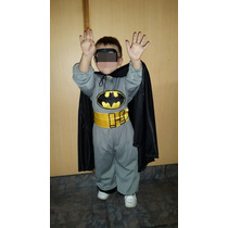 Disfraz De Batman!!! El Mejor!!!