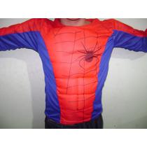 Original Disfraz Del Hombre Araña Con Musculos !