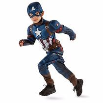 Disfraz Capitan America Original Disney Store!