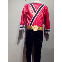 Disfraz De Power Ranger Samurai (en Todos Los Colores)