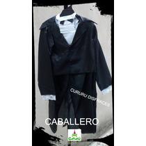 Disfraz Patrio Caballero Talle 4/6/8/10 Completo Acto