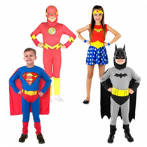 Disfraz Batman Superman Mujer Maravilla - Mundo Manias