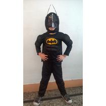 Disfraz Musculos Batman Importado Nene Envios A Todo El Pais