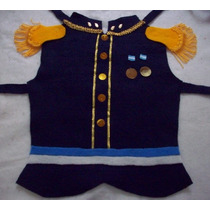 Disfraz San Martin Pechera Pañolenci Para Niños Brovillnet