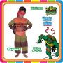 Disfraz De Rafael - Tortugas Ninjas - Original New Toys