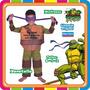 Disfraz De Donatello - Tortugas Ninjas Original New Toys