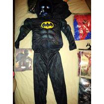 Disfraz Traje De Batman Con Musculos Importados! Miralo!