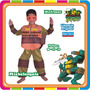 Disfraz De Miguel Angel - Tortugas Ninjas Original New Toys