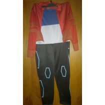 Disfraz Niño Generador Rex. Talle 2 ( 5/6 Años)