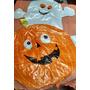 Globo Metalizado Halloween Calabaza Fantasma Deco Fiesta