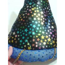 Payaso-alladin Sombrero-gorro En Tela Rasada Multicolor