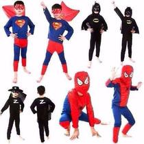 Disfraz Cap. America, Superman, Zorro,batman Envio Gratis¡¡¡