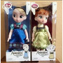 Elsa Y Anna Frozen, Serie Animators - Disney Store Original