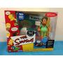 Simpsons Playmates Escenario De Apu En Bowling-a Rama Unico!