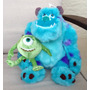 Disney Parks Peluche De Monsters Sully Y Mike De 38cm Unico!