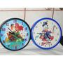 Relojes De Pared Disney Sirenita Donald A Pila