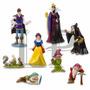 Playset Princesa Blancanieves Disney Adorno Tortas 8 Figuras