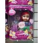 Muñeca Princesa Disney Cenicienta Aurora Ariel + Corona 20cm
