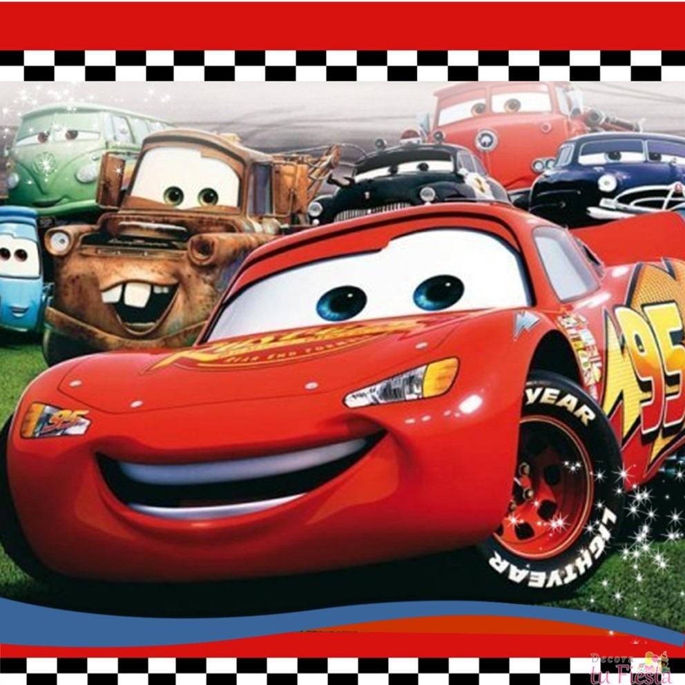 Cars Disney Invitaciónes