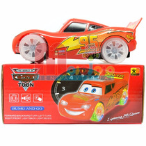 Cars Auto Rayo Mcqueen Luz Y Sonido Anda Solo Super Lindo!!