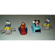 Muñecos Disney - Mickey - Pluto - Donald En Autos