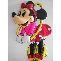 Minnie Mouse 1960 Cartel Plástico Termoformado