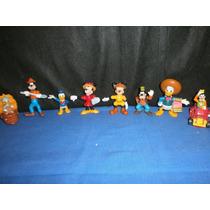 Lote De 8 Muñecos Disney De Mc Donalds