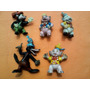 5 Figuras Goma Kfs 3 Chanchitos Licencia De Walt Disney