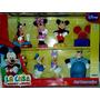 Set X 7 Figuras Muñecos Disney Pra Tortas Vulcanita La Plata