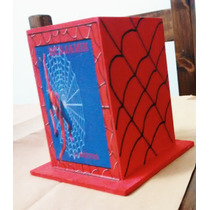 Porta Lapices Souvenir Spider Man Iron Man Personalizados