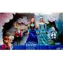 Set Muñecas Frozen Anna & Elsa Olaf Sven Original Mattel
