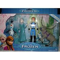 Set De 4 Muñecos De Frozen La Ultima Pelicula Disney