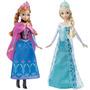 Muñeca Frozen Elsa O Ana Hermosas Originales Mattel! Jiujim