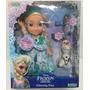 Muneca Frozen Glowing Elsa Luz Habla Canta En Esp Xml 1844