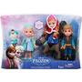 Frozen Set De 4 Muñecos Chicos Originales Deluxe