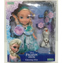 Muneca Frozen Glowing Elsa Luz Habla Canta En Esp Zap 1844