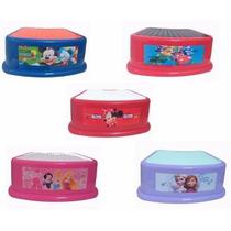 Escalon Banquito Step Disney Niños Mickey Minnie Princesas