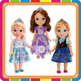 Muñecas Disney Princesas Frozen Elsa Anna Sofia Mundo Manias