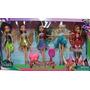 Pack Disney Muñecas Articuladas Tinkerbell Hadas Y Piratas