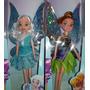 Muñecas Tinker Bell, Hadas Y Piratas De 23 Cmts.