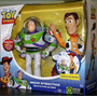 Woody Y Buzz Amigos Interactivos Original Toy Story