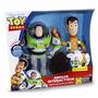 Buzz Lightyear Y Woody Interactivos Toy Story Original Tv