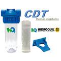 Filtro Anti Sarro Antisarro Hidroquil 1 - Sal Polifosfato