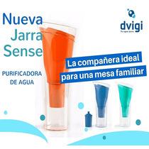 Jarra Purificadora De Agua Dvigi Sense 1.5 L. Varios Colores