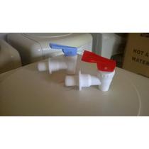 Canillas Para Dispenser Agua Frio Calor (2 Unidades) Orig