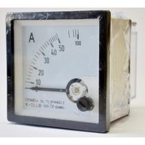 Amperimetro 50a 72x72 Directo Tbcin