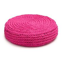 Almohadones Al Crochet Punto Trama
