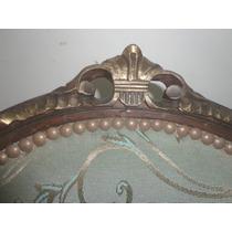 Juego Antiguo Sillones Medallon Luis Xv Frances Provenzal