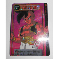 Carta Naipe Dragon Ball Z Gt Dp7000 Japonesa